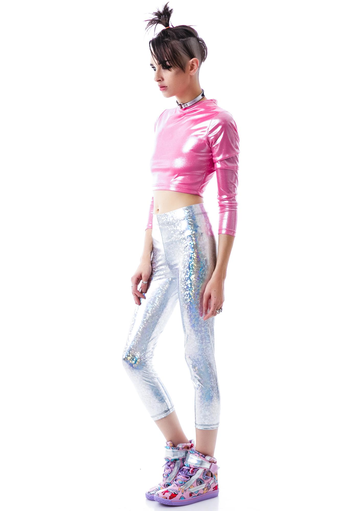 Lip Service Odyssey High Waisted Capri Leggings