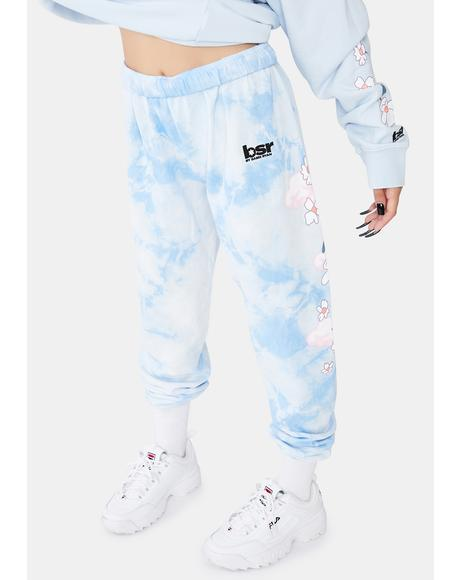 Felt Cute Tie Dye Sweats