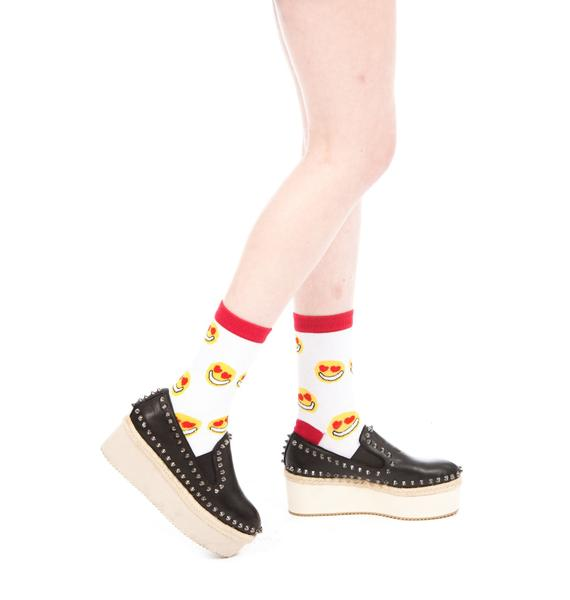HLZBLZ X Belle Of The Brawl Leaders Platform Espadrilles