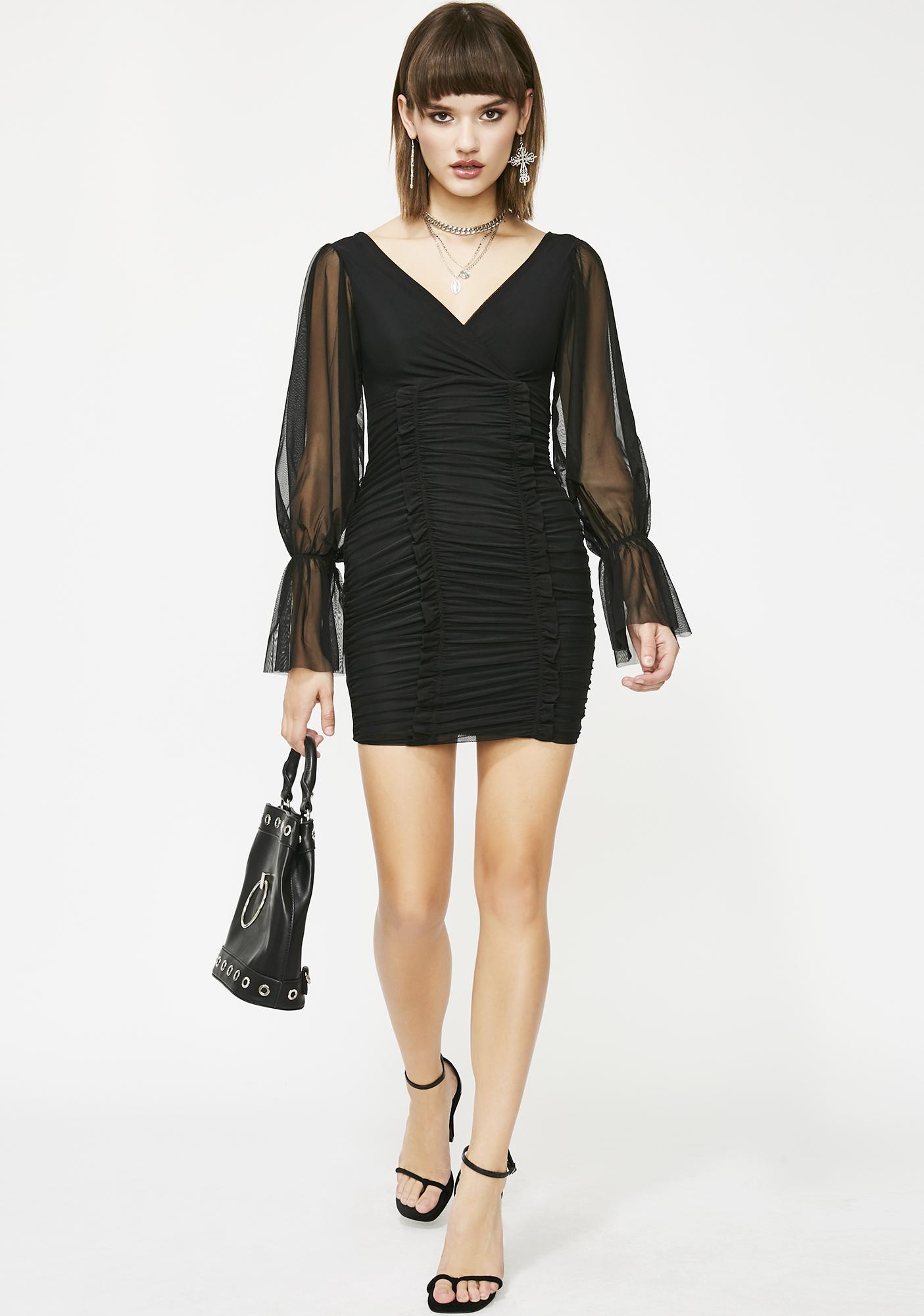 Always On Ya Mind Mini Dress