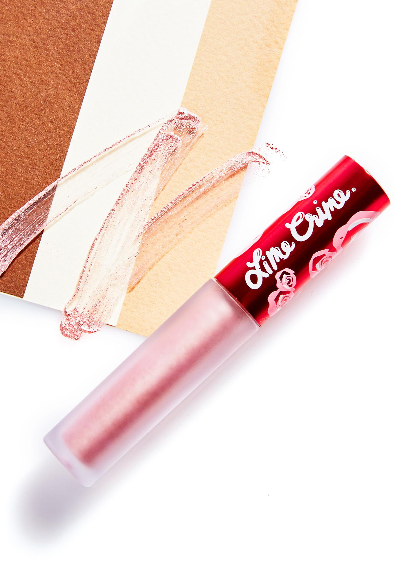 Lime Crime Blondie Metallic Velvetine Liquid Lipstick
