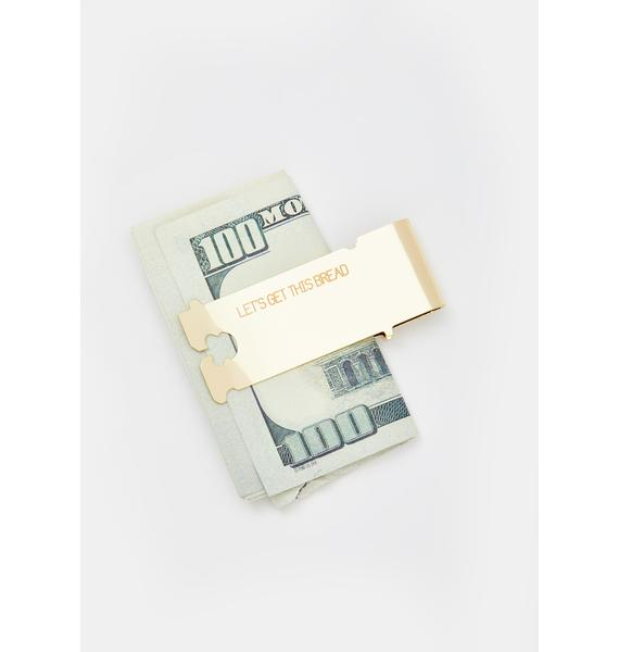 Studio Cult Let's Get This Bread Money Clip