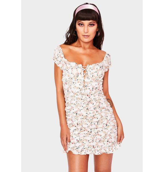 Budding Feelings Floral Dress