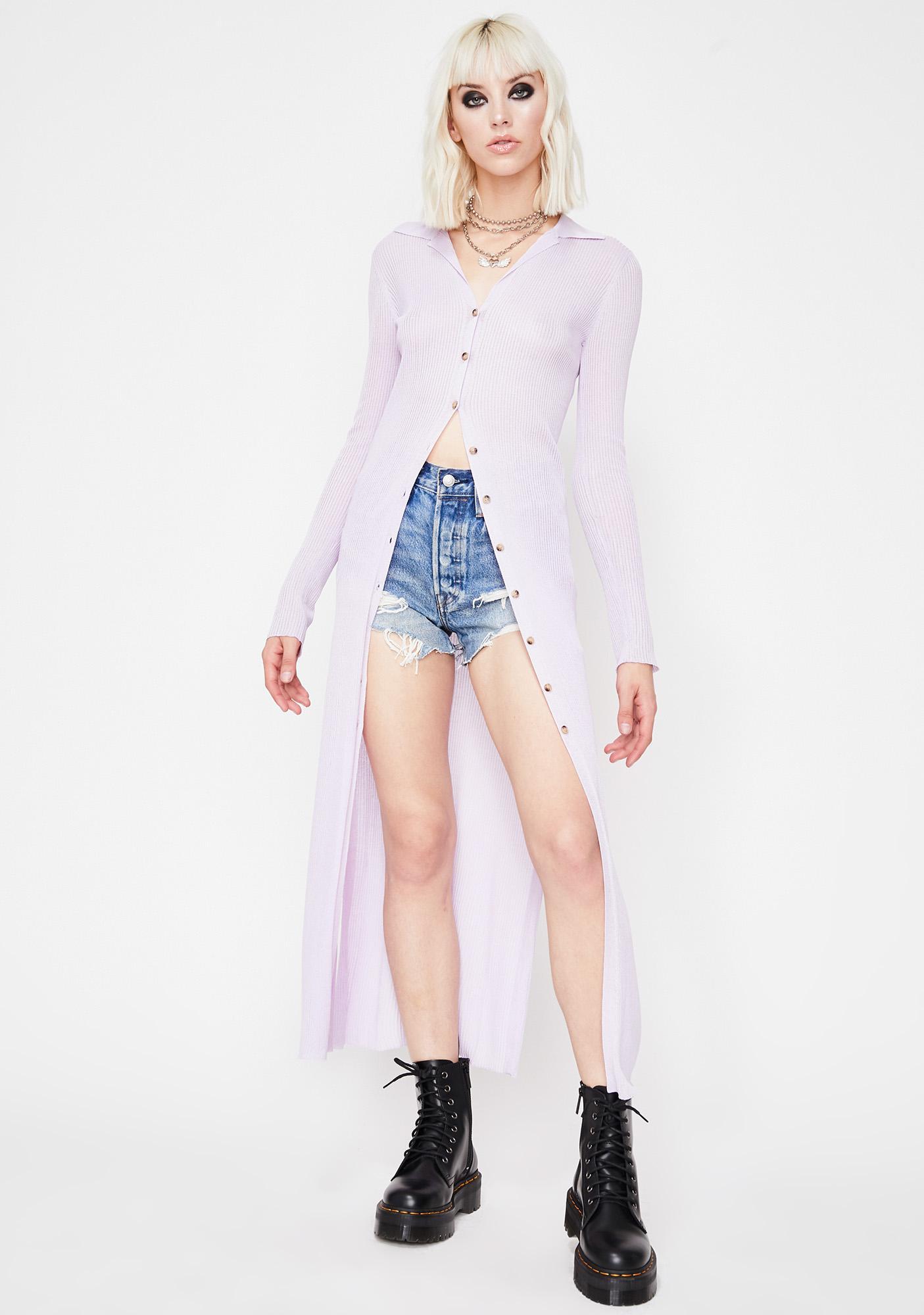 Flair Dramatic Knit Cardigan