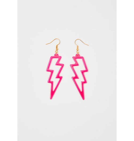 Electric Energy Drop Earrings