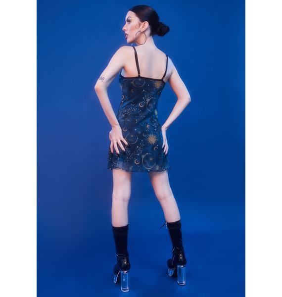 HOROSCOPEZ Mystic Matters Slip Dress