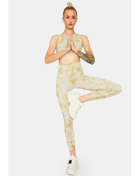 Pressure Zone Tie Dye Leggings