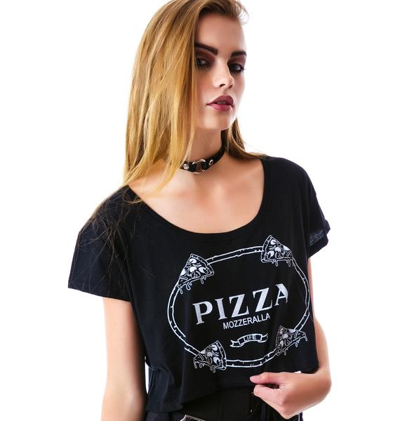 Slice of Luxury Crop Tee