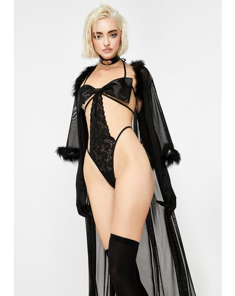 Mistress Gift Cut-Out Bodysuit