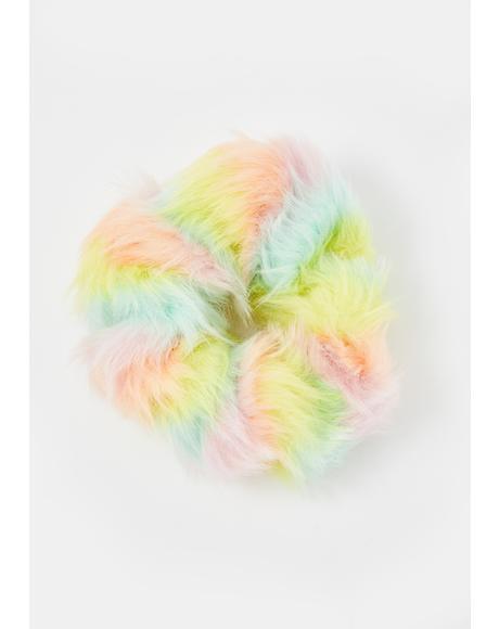 Furreal Pastel Scrunchie
