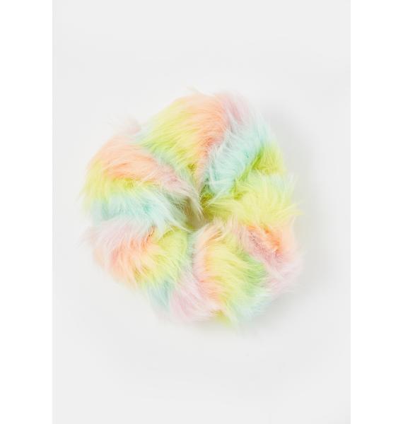 Stinnys Furreal Pastel Scrunchie