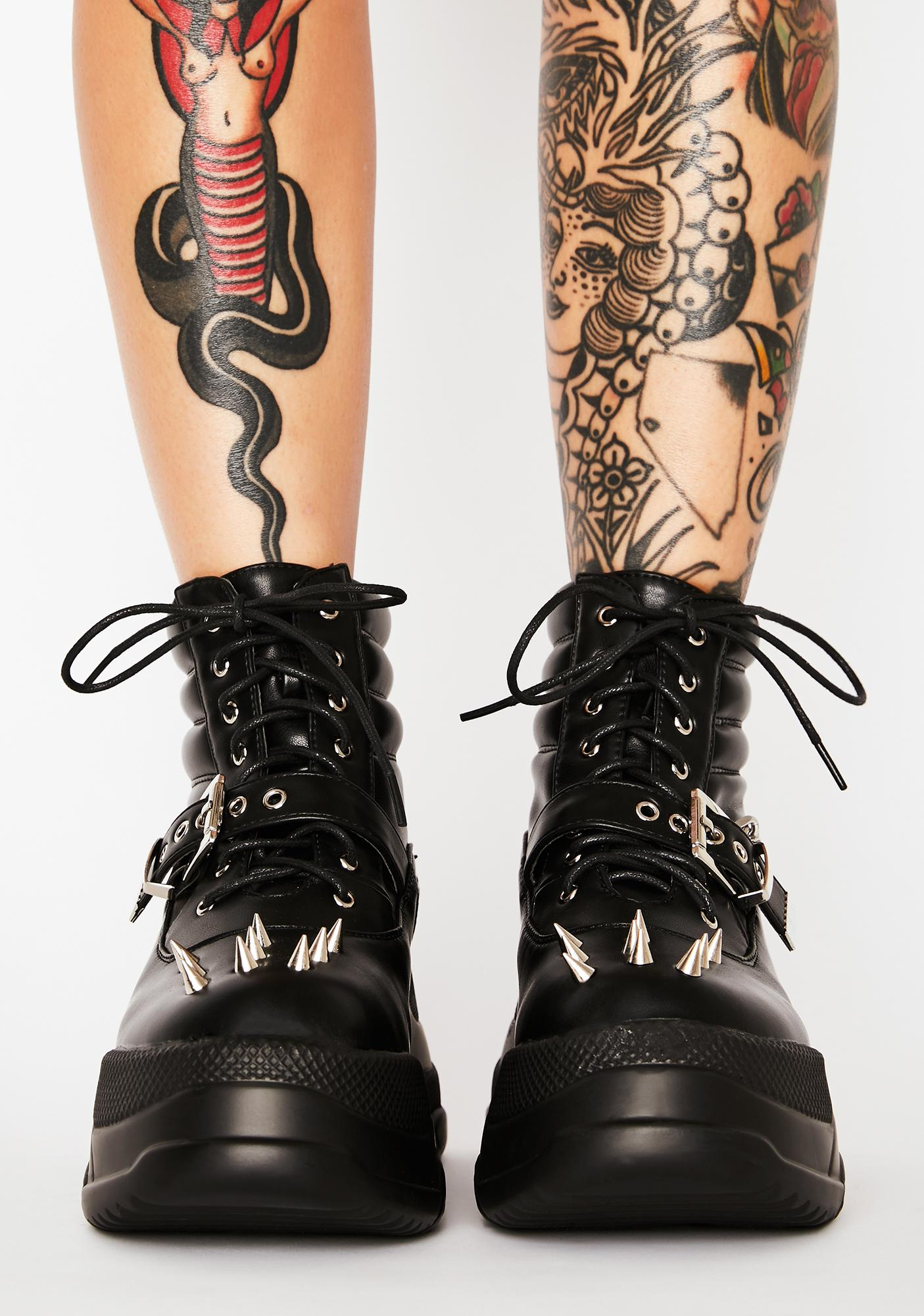 Lamoda Screamin' Loud Platform Boots