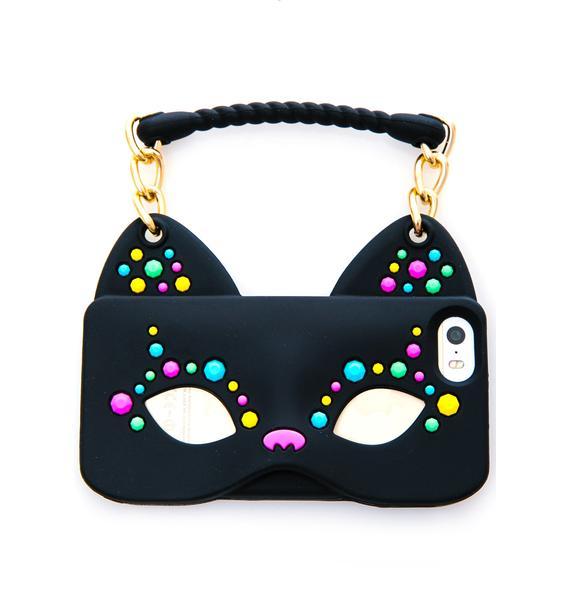 Cat Woman iPhone 5 Case