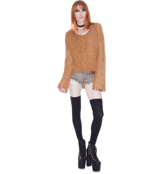 One Teaspoon Euphoria Knit Top
