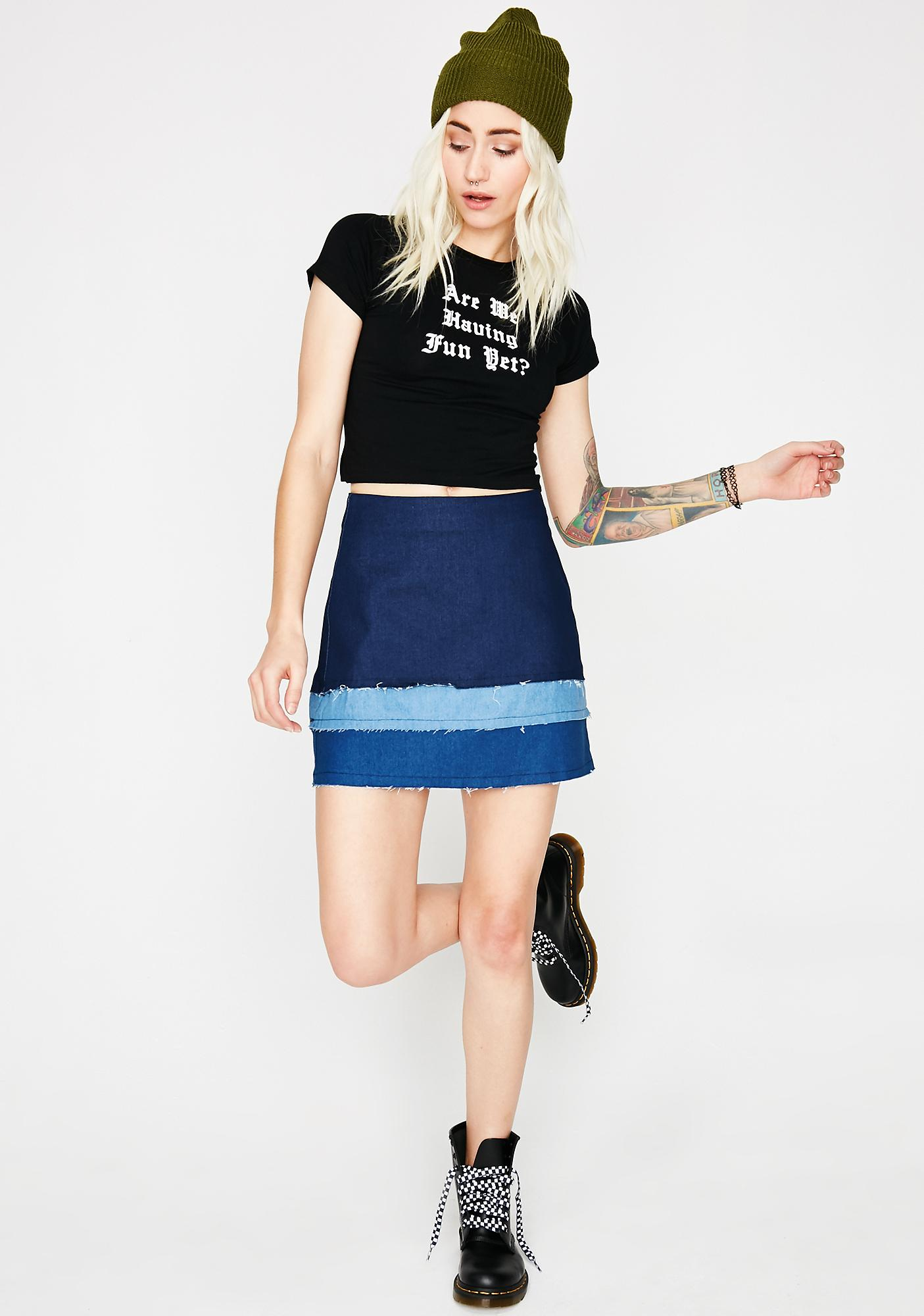 Fifty Shades Denim Skirt