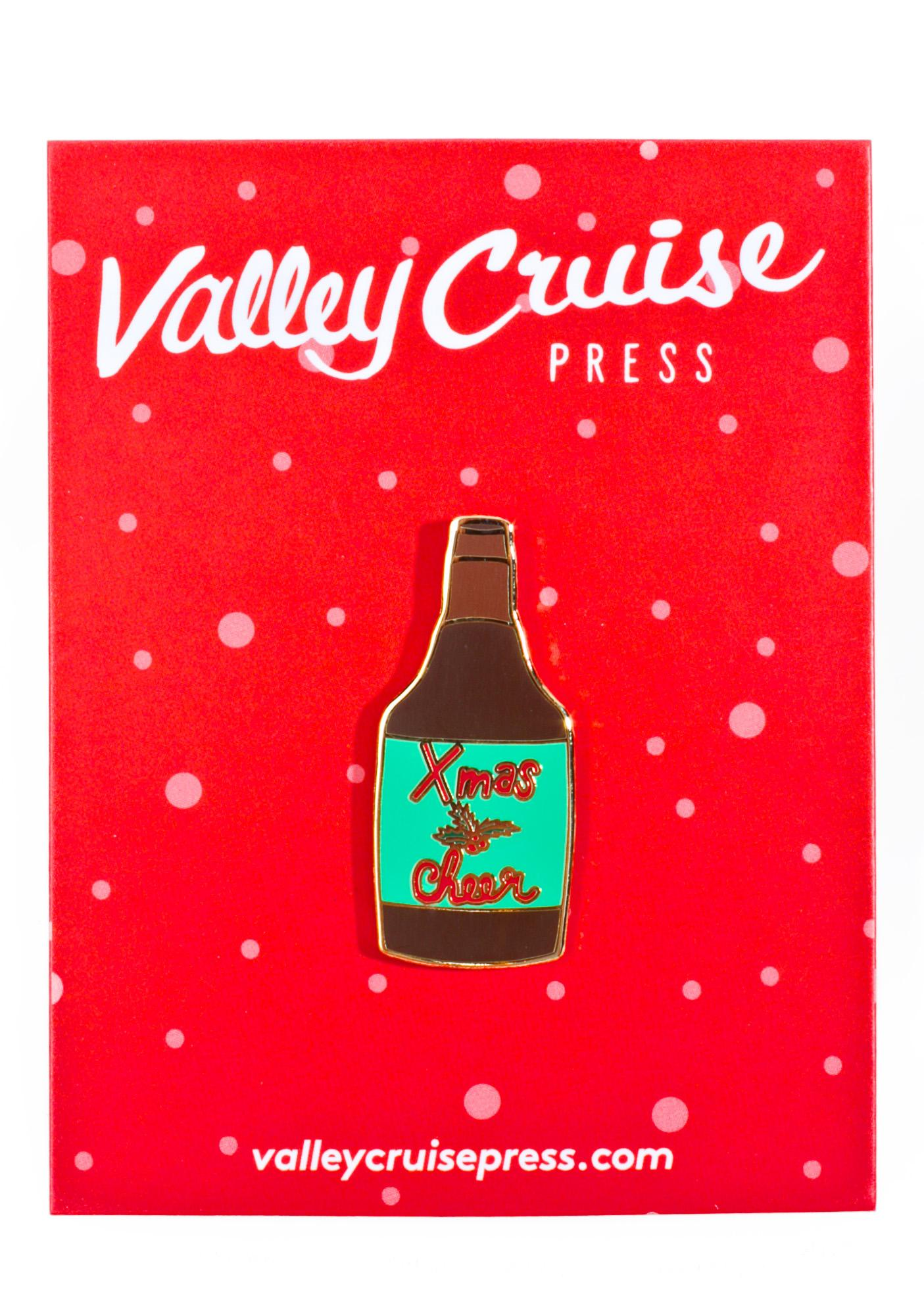 Valley Cruise Press Xmas Ale Pin