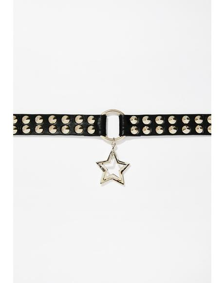 Beam Me Up Star Choker