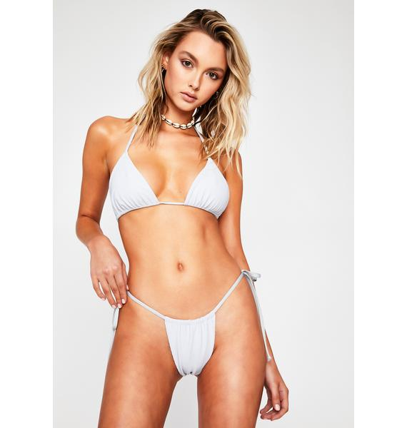Frankies Bikinis Cloud Tia Bikini Bottoms