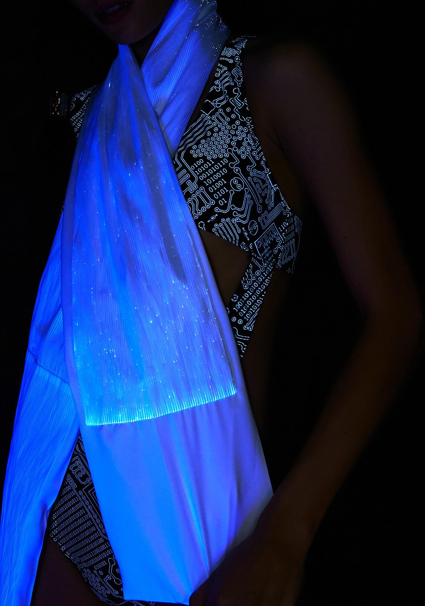 Rave Nation Fiber Optic Light Up Scarf