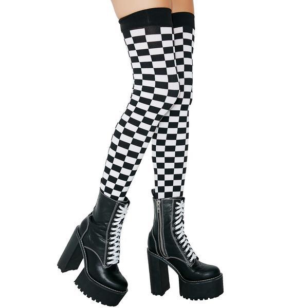Speed Racer Thigh Highs