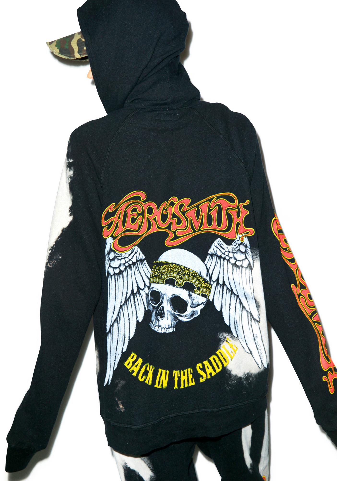 Lauren Moshi Aerosmith Zip-Up Hoodie