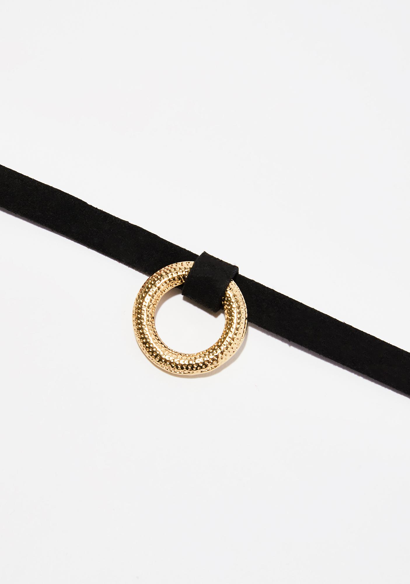 Big O Ring Choker