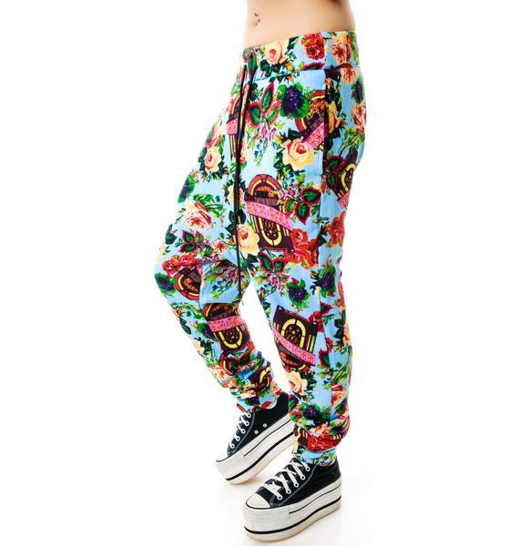 Joyrich Juke Box Floral Harem Pants