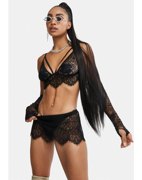Say It Back Lace Lingerie Set