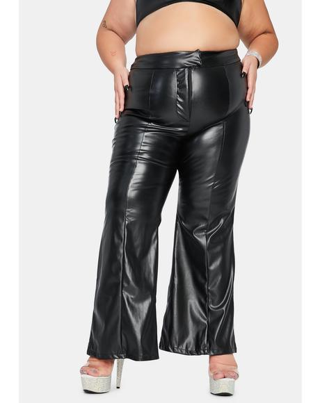 Legit Undercover Baddie Flare Pants