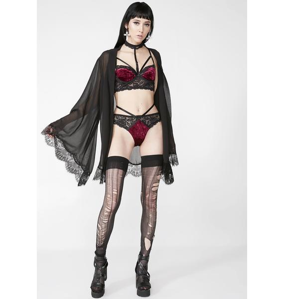 Killstar Scarlet Boudoir Panty