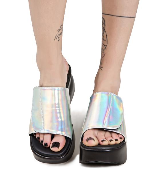 O Mighty Hologram Babygirl Platforms