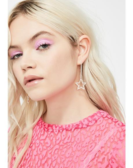 Glam Game Star Earrings
