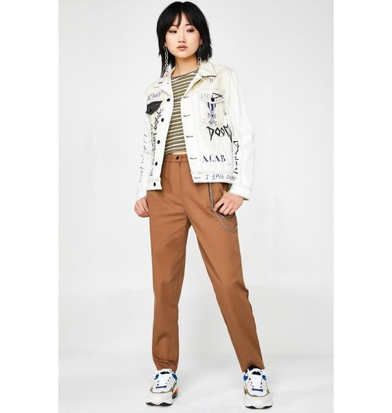 Minga Peg Chain Trousers