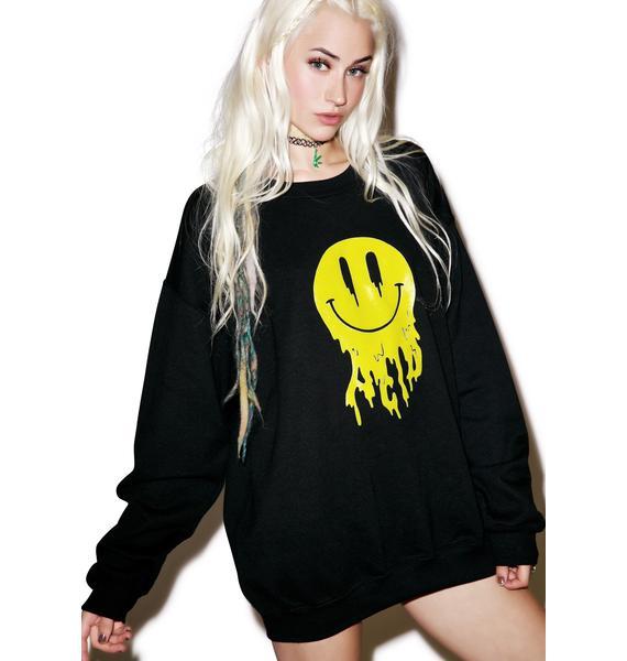 Moon River Collective Acid Trippin' Sweatshirt
