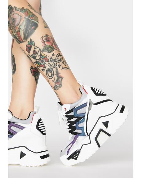 Prism Stop Look N' Glisten Platform Sneakers