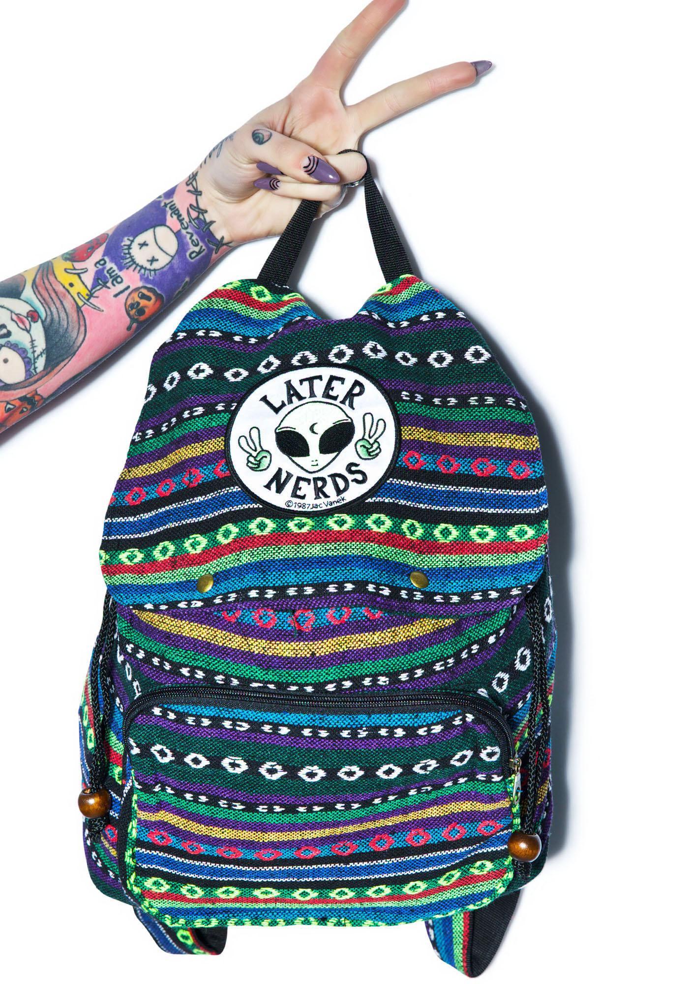 Jac Vanek Later Nerds Backpack