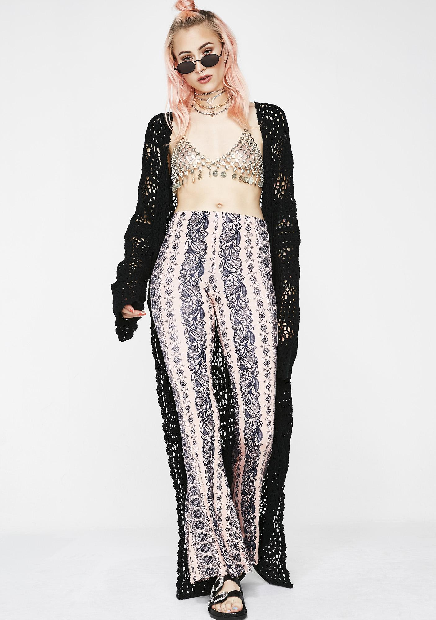 Sweet Haze Printed Pants