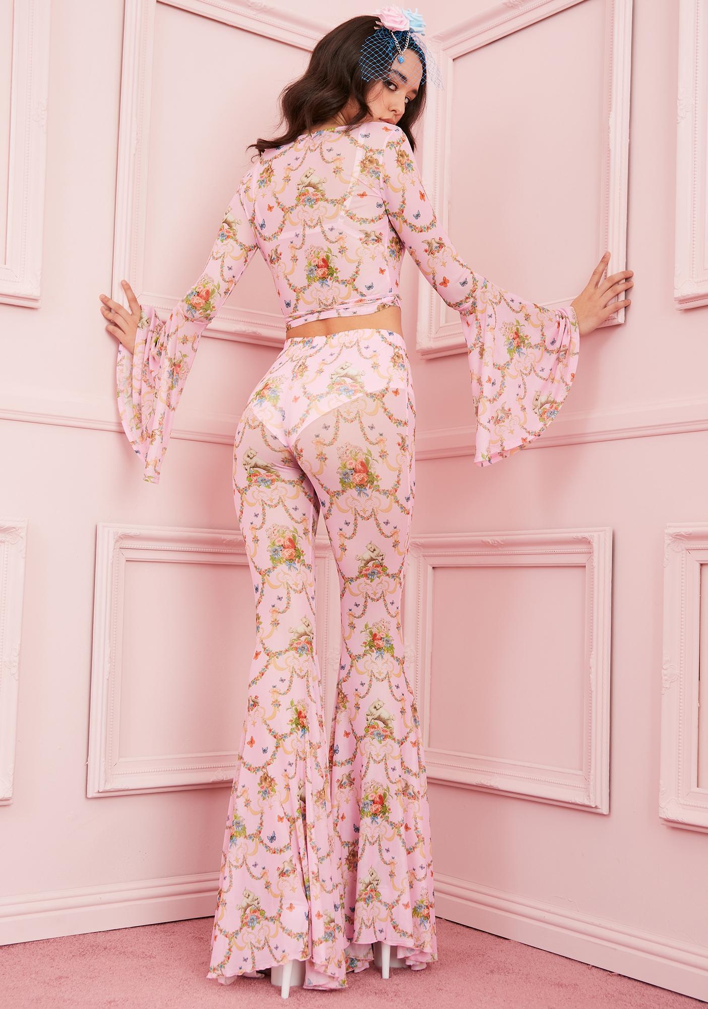 Sugar Thrillz Lush Opulence Flare Pants