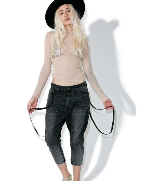 Black Van Kingpin Jeans