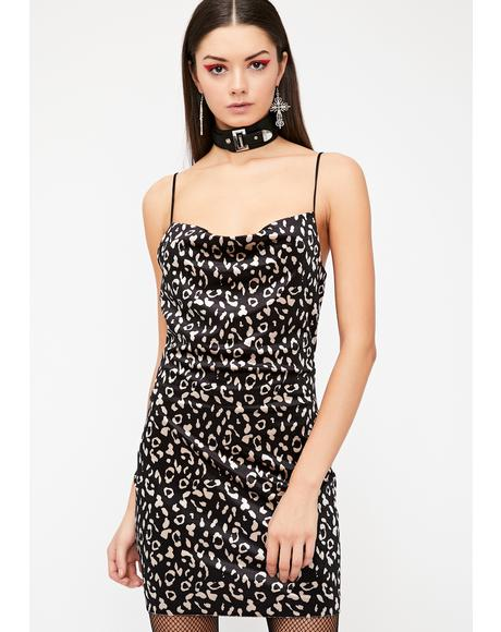 Pretty Purrrfect Leopard Dress