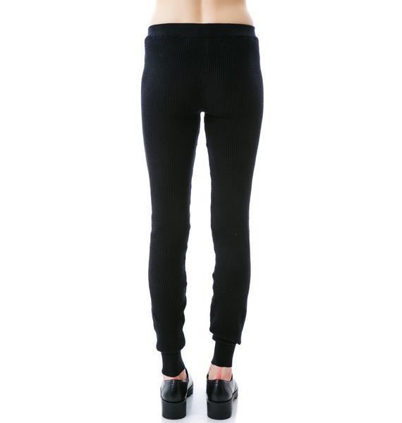 Plush Thermal Knit Leggings