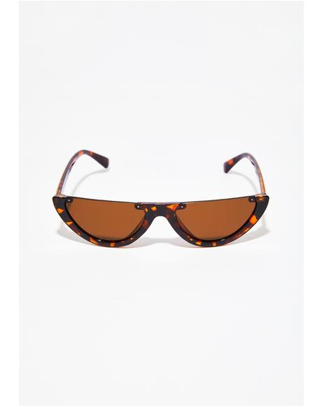 Tortoiseshell Give Them Shade Sunglasses