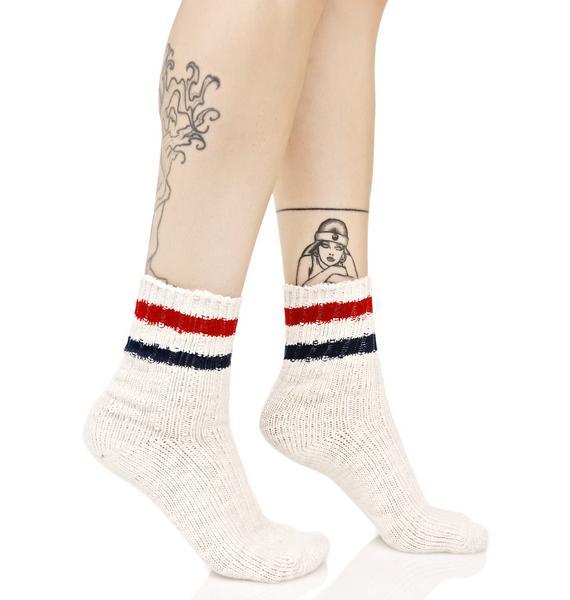 Bookworm Crew Socks