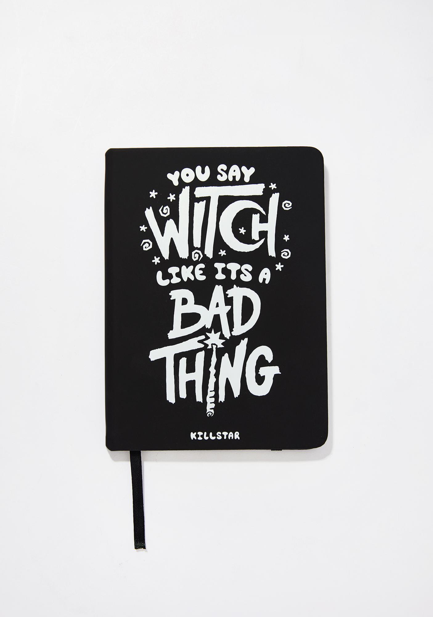 Killstar Who's Bad Journal