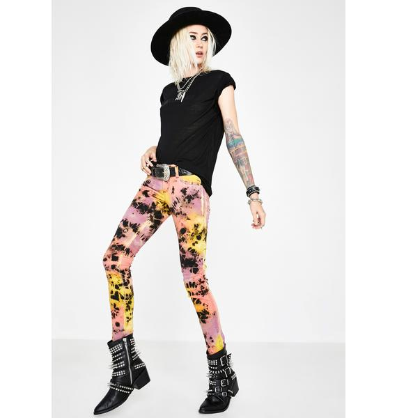 Tripp NYC Tie Dye Jeans