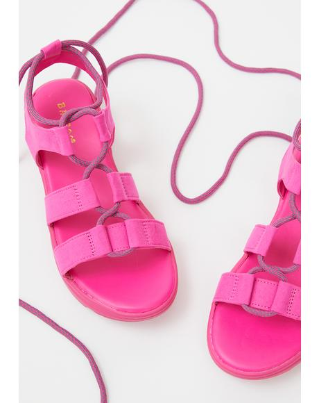 Total Shock Gladiator Sandals