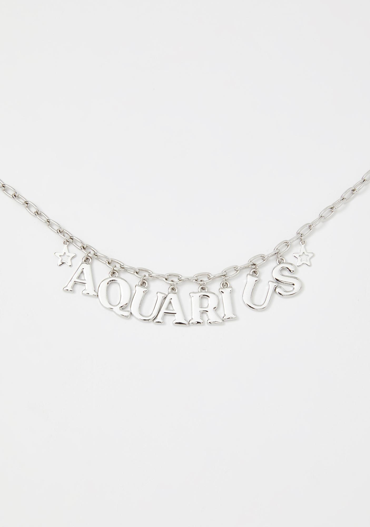 Always Aquarius Chain Necklace