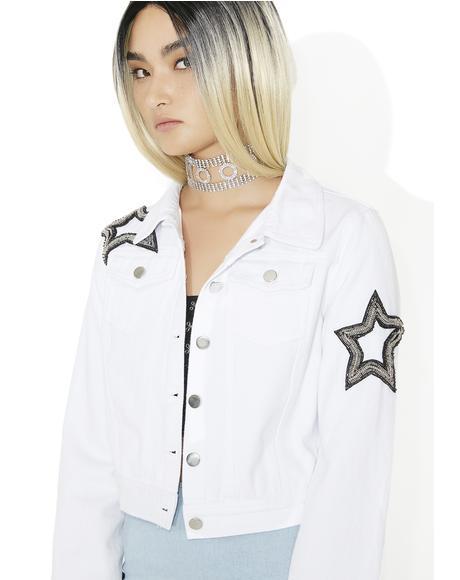 Sungraze Embellished Denim Jacket