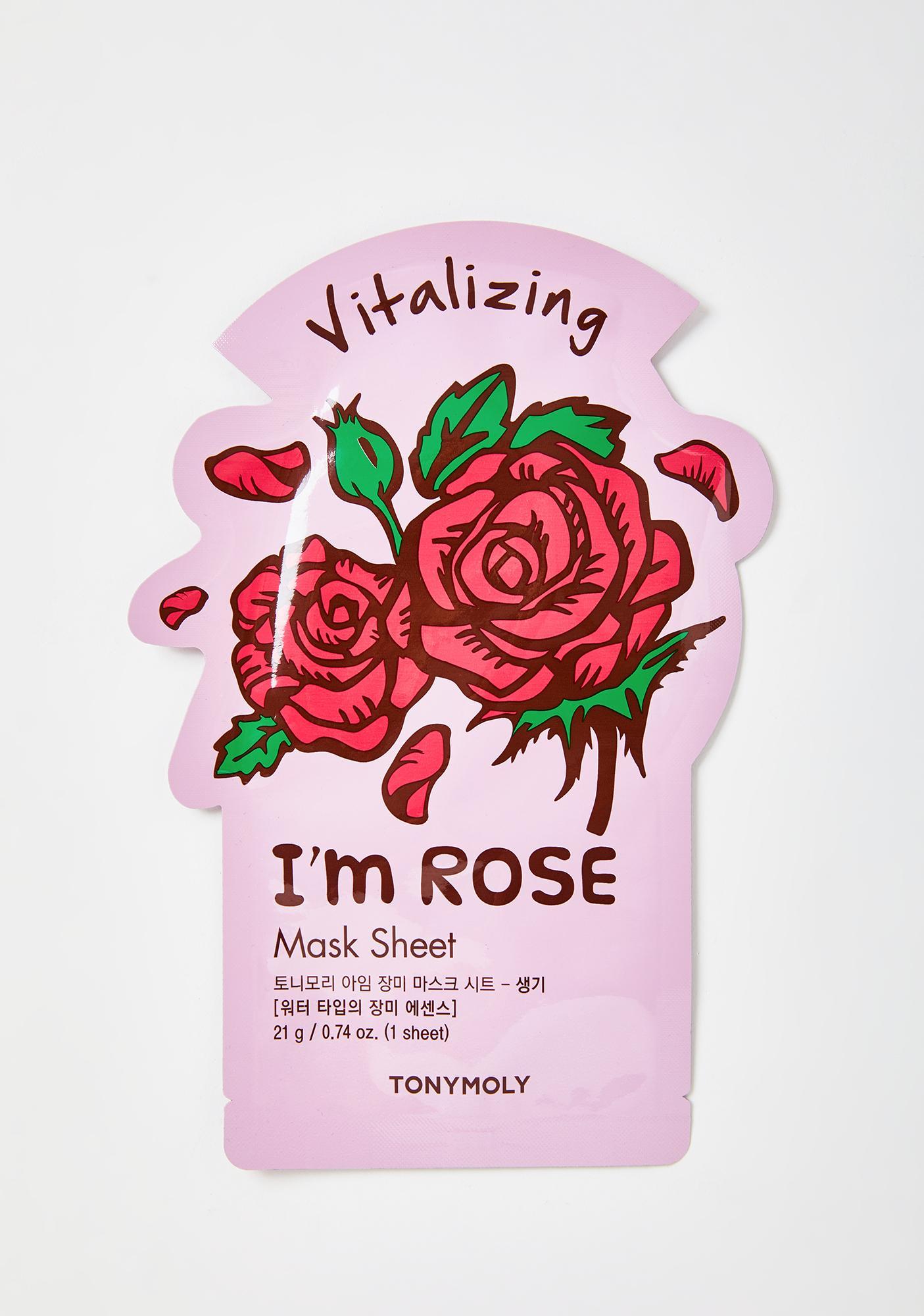 TONYMOLY Rose I'm Real Sheet Mask