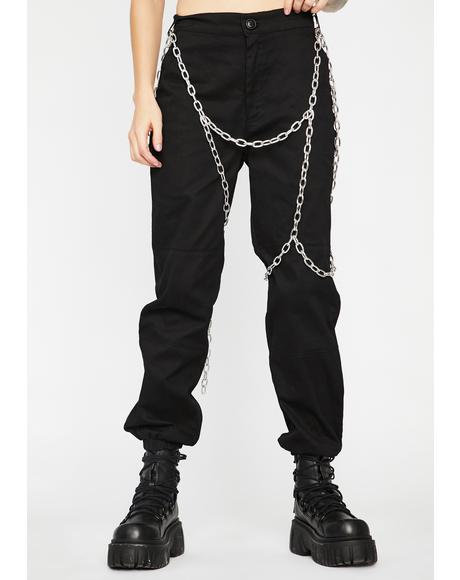 Hungry For Power Chain Pants